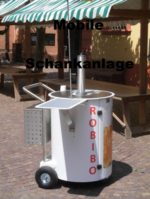 ...mobile Schankanlage...